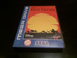 el rey León sega megadrive