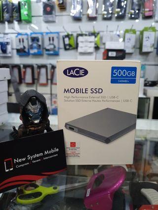 DISCO DURO PORTATIL SSD 500GB LACIE PRECINTADOO