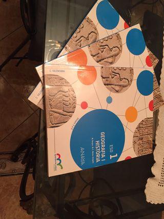 Libros geografía 1 eso