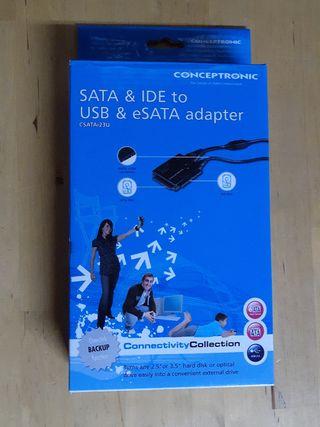 Adaptador SATA y IDE a USB