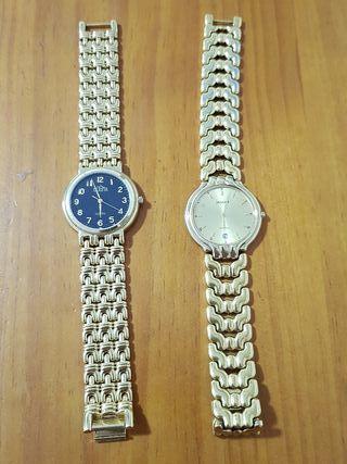 relojes caballero y mujer