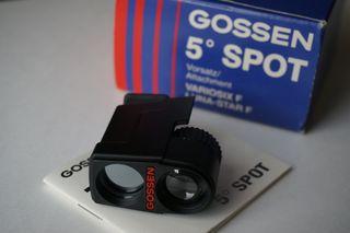 Accesorio spot (5º) para Gossen Variosix