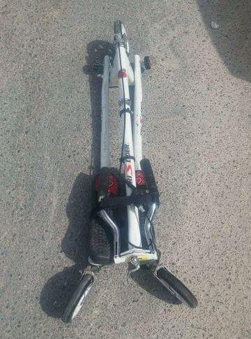 Patín de tres ruedas TriSlider
