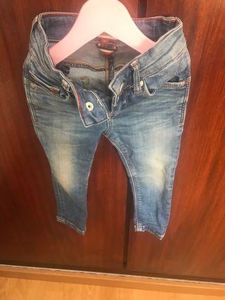 Jeans tommy niña