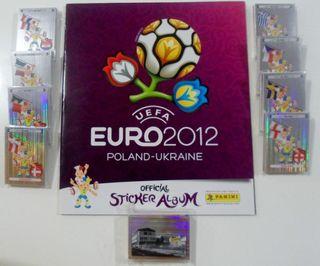 COLECCION COMPLETA EUROCOPA 2012 PANINI, EURO 2012