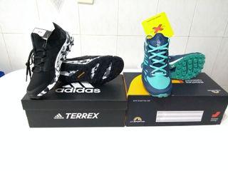Zapatillas de trail Adidas y La Sportiva
