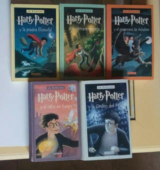 LOTE LIBROS HARRY POTTER