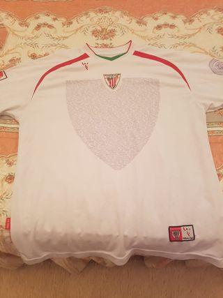 Camiseta Athletic Club Blanca 2006/07 XL