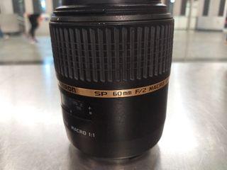 OBJETIVO tamron sp 60mm f/2 macro