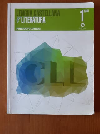 Libro de Lengua Castellana y Literatura 1ro de bac
