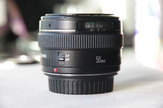 Objetivo Canon EF 50 mm F1.4 USM