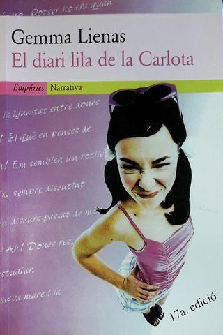 "Libro de lectura ""El diari lila de la Carlota"""