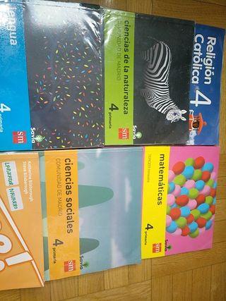 Libros de texto 4 de primaria