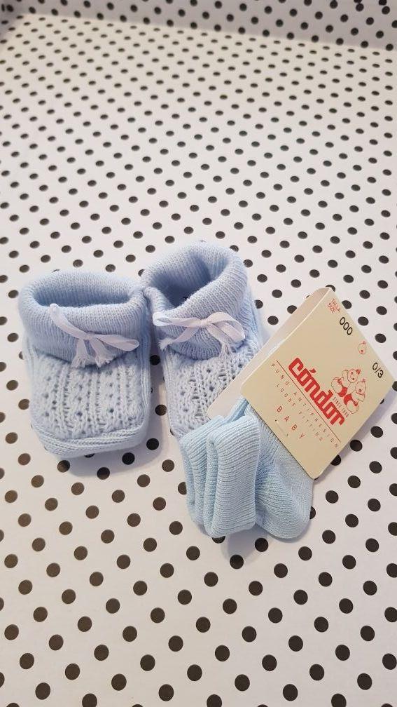 Patucos y calcetines bebé CÓNDOR