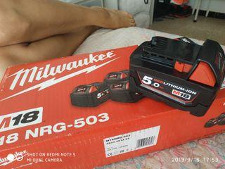 baterías Milwaukee M18-M12