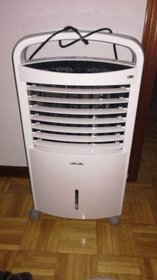 climatizado y ventilador
