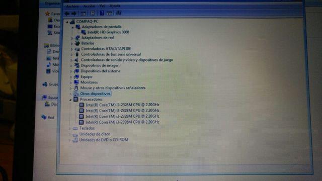 PORTATIL COMPAQ CQ58 I3
