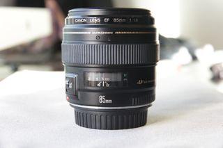 objetivo Canon EF 85 mm F1.8 USM EF