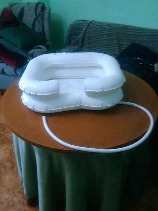 lavacabezas hinchable
