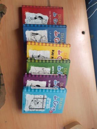 """Pack 6 Primeros Libros """" El Diario De Greg"""""""