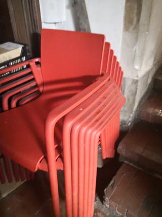 6 sillas terraza
