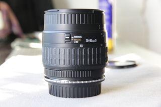 OBJETIVO 28-80mm f 1:3.5-5.6 montura nikon F
