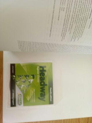 libros de ingles A1 headway student + workbook