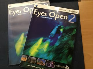 Eyes Open 2 . Student's book. Workbook.Cambrige