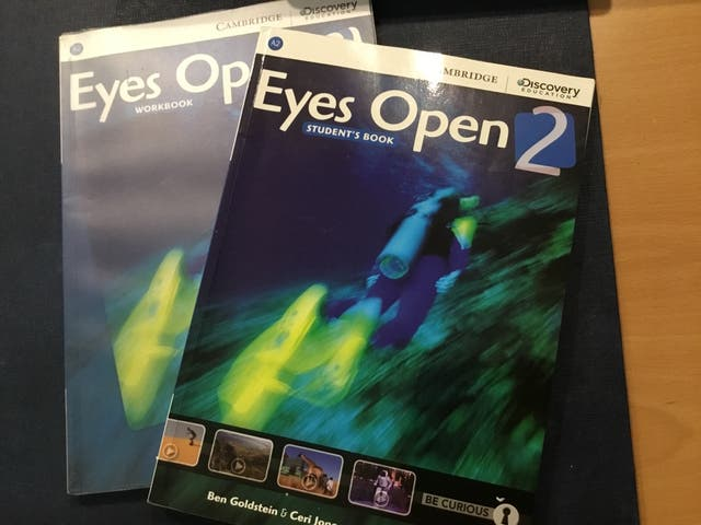 Eyes Open 2 . Student's book. Workbook.Cambrige
