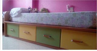 cama de cajones