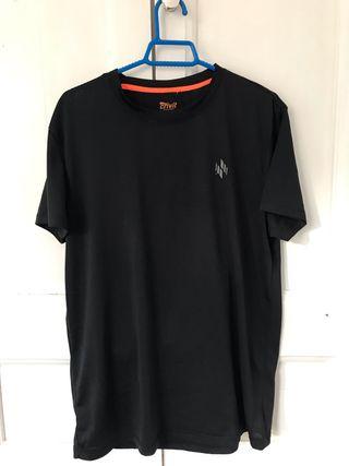 Camiseta deportiva negra Talla M