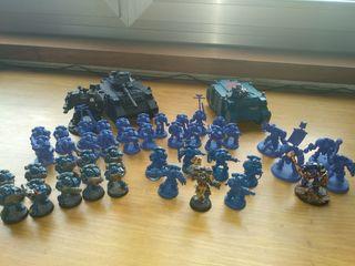 Warhammer 40000 Marines