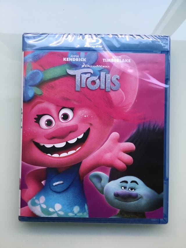 Blu ray precintado Trolls
