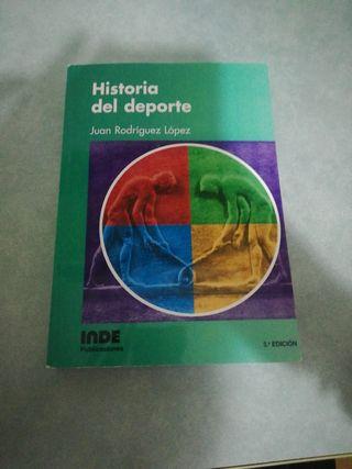 libro de historia del deporte