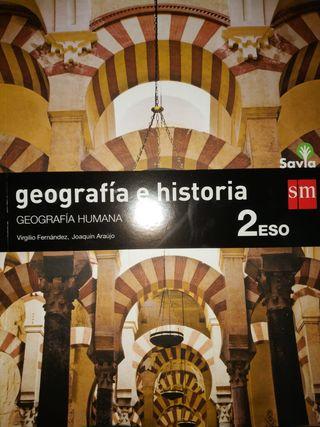 Geografía humana e Historia Medieval 2 ESO SM