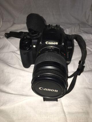 Cámara de fotos Canon EOS400D