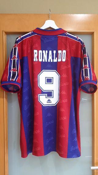 FC Barcelona 1996/97. XL. RONALDO. HISTÓRICA