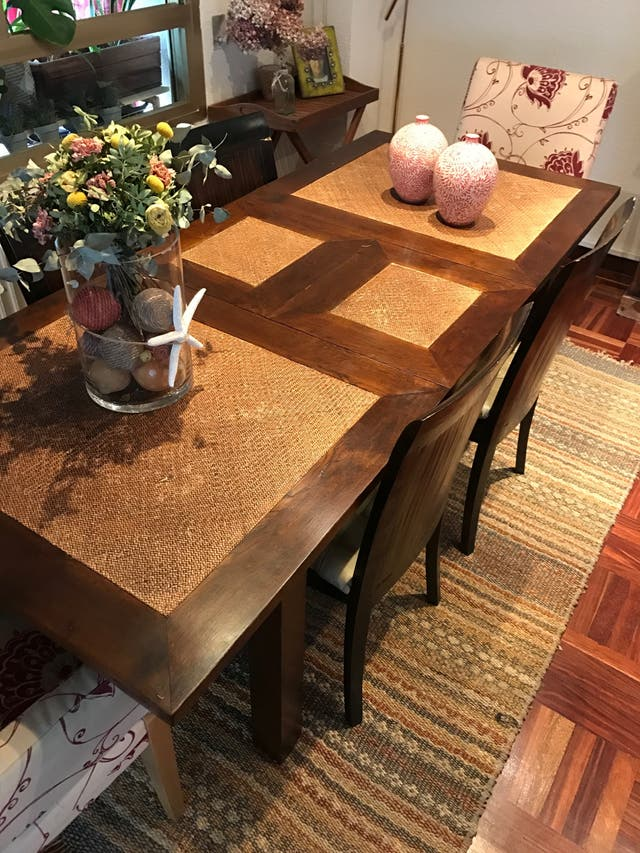 Mesa madera comedor