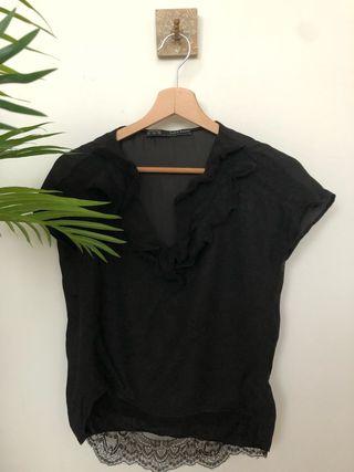 Blusa negra