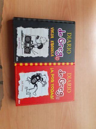 """Pack 2 libros """" Diario De Greg"""""""