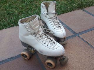 patines 37- 38 artístico profesionales 4 ruedas