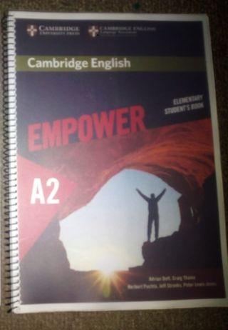 Libro Inglés nivel A2
