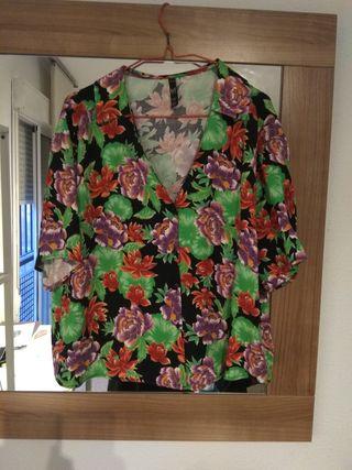 Blusa exótica de Zara