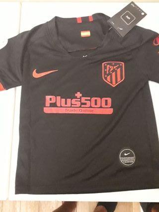 Segunda Camiseta Atletico de Madrid Niño