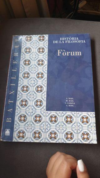 Libro de Història de la filosofia 2batx