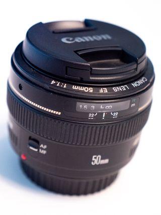 Objetivo Canon EF 50mm f1.4 USM