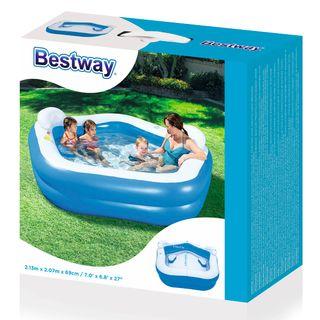 Bestway Piscina infantil de juego azul 91084