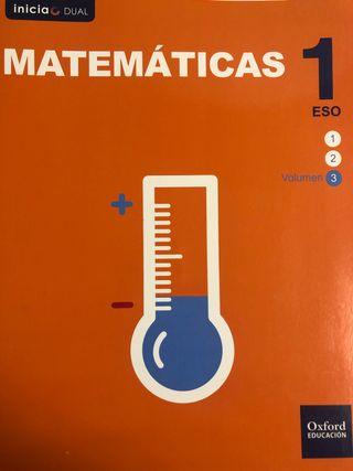 Libro Matemáticas 2 ESO OXFORD EDUCATION