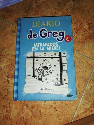 """Libro """"El diario de Greg"""""""