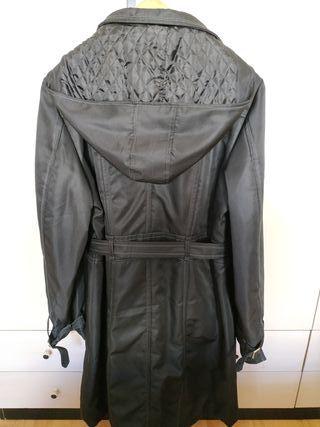 Abrigo tipo gabardina de mujer, talla 42/44
